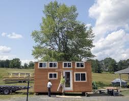 Hous Bridgton Child U0027s Tiny House Dream Comes True With Make A Wish