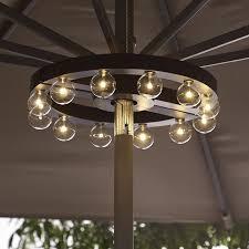 Patio Umbrella Lights Led Patio Umbrella Marquee Lights Patio Umbrellas Globe Lights And