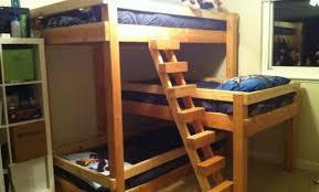 futon awesome futon plans adorable queen size bunk beds design