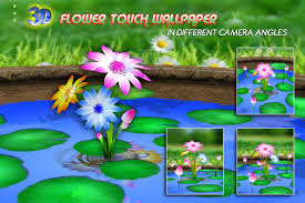 Flower Garden App by 3d Flowers Touch Wallpaper Android Apps On Google Play
