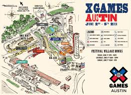 Austin Food Truck Map by X Games Austin To Feature Six Interactive Festival Villages Espn