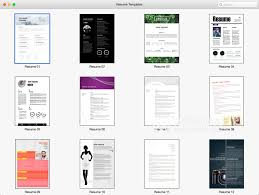 resume templates mac resume templates for mac pages v1 3 mac free