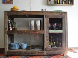 Distressed Wood Bar Cabinet How To Make A Wood Wine Rack Wood Wine Rack Cabi Plans Reclaimed