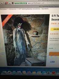 spencer gifts spirit halloween find more 6 ft twitching banshee for sale at up to 90 off