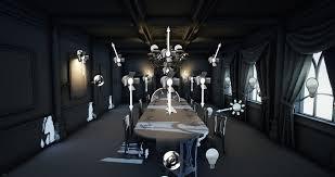harley wilson ue4 lighting victorian dining room