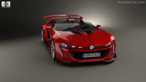 volkswagen gti roadster 360 view of volkswagen gti roadster 2014 3d model hum3d store
