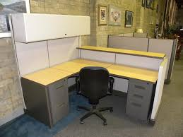 Miller Overhead Door Used Reception Panel System Workstation By Herman Miller With