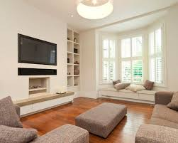 Where To Place Tv In Living Room Where To Put Tv In Living Room With Bay Window