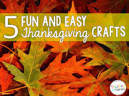5 fun and easy thanksgiving crafts