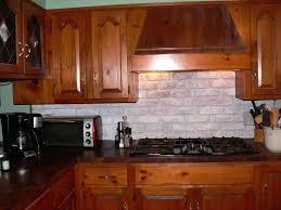 Faux Kitchen Backsplash Brick Kitchen Backsplash Large Size Of Veneer Panels Faux Thin