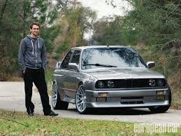 bmw e30 modified 1988 bmw m3 european car magazine