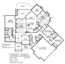 stickley craftsman house plan builders floor plans architectural