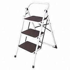 grainger approved household step stool 3 ft h 300 lb 12m627