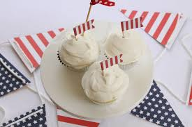 welcome home military stars and stripes patriotic cupcake toppers
