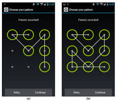 pattern lock design images security of the android pattern lock possibly wrong