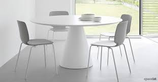 White Gloss Meeting Table Round Meeting Tables Circular Office Tables