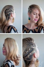 half shaved with braids deep side parted faux undercut cornrow comb over braid hairstyles