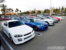 nissan skyline fast and furious fast and furious movie meet at the block modified magazine