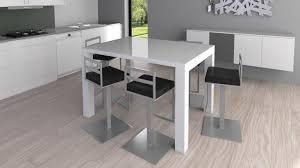 table haute de cuisine avec tabouret table haute avec tabouret pour cuisine design en image