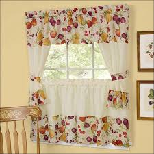Walmart Kitchen Curtains Kitchen Kitchen Curtains At Walmart Kitchen Curtain Fabric