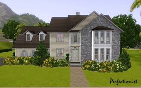 mod the sims u00275 bedroom colonial style house u0027 ts3 remake