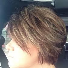 chunky short haircuts chunky caramel highlights for brown hair google search beauty