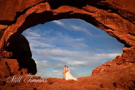 wedding arches national park unique wedding photos still timeless