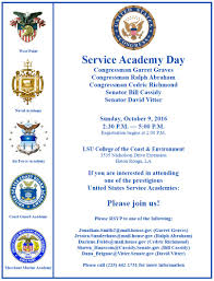congressman graves to host service academy day in baton rouge