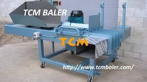 simple used clothing baler machines in united states youtube