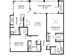 Two Bed Two Bath Floor Plans One Two Three Bedroom Apartments For Rent In Indianapolis In