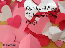 quick and easy valentine u0027s day craft u2014 kids in the capital