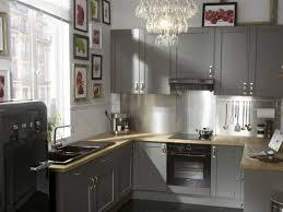 cuisine le roy merlin idée relooking cuisine cuisine grise mobilier déco