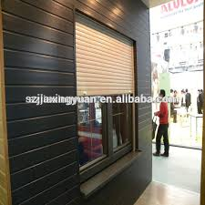 Residential Interior Roll Up Doors Residential Aluminum Window Shutter Roll Up Residential Aluminum