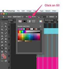 color how do i change the colour of a shape in photoshop after i