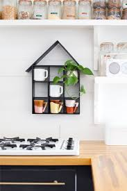 Kitchen Wall Shelf Ideas by House Shaped Shelf Diy U2013 A Beautiful Mess