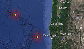 Map Oregon Coast by Usgs Reports Two Earthquakes Off The Oregon Coast U2013 Kobi Tv Nbc5