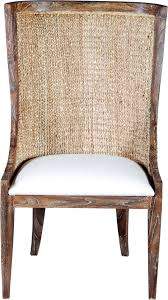 woven back dining chair mecox gardens