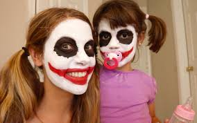 halloween baby face mask bad baby joker vs joker mom food fight real life superhero