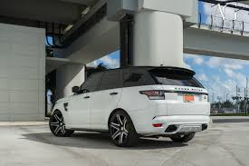 white range rover sport ag luxury wheels range rover sport svr forged wheels
