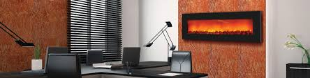 wall mounted heat lamp wm slim 54 u2013 wall mount zero clearance fireplace sierra flame
