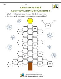 christmas maths worksheets year 3 4 christmas fractions worksheets