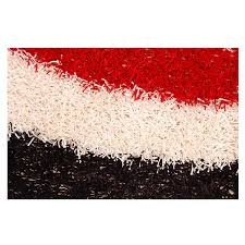 Red Black White Area Rugs Pearl Red Black White 5 U0027 X 8 U0027 Area Rug El Dorado Furniture