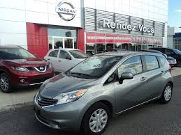 nissan versa note 2014 used 2014 nissan versa note sv cvt convenience package at rendez