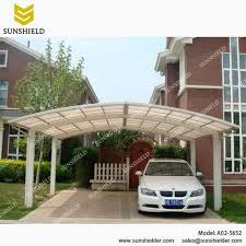 Car Port Roof Garage Port For 2 Cars Sunshield Outdoor Polycarbonate Carports