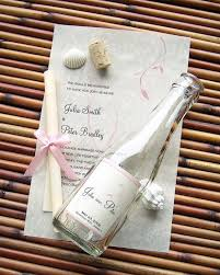 message in a bottle wedding invitations message in a bottle signature wedding invitation sle bliss
