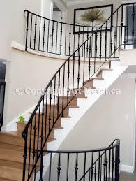 Iron Banisters Iron Stair Railings Toronto U0026 Mississauga Handrails Staircases
