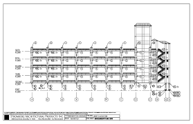 bremerton parking garage in bremerton wacad files download dwg large view