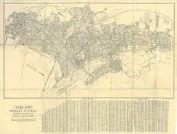 Oakland Map Pocket Map Of Oakland Berkeley Alameda 1939 1939 Expos U2026 Flickr