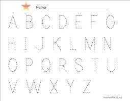 alphabets alphabets tracing worksheets printable free math