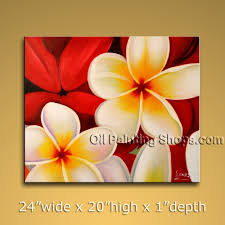 easy flower paintings on canvas flowers floral red